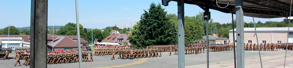 Redesignation Parade 18 July 2014